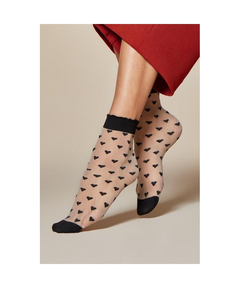 Fiore Jeunet 20 DEN Ponožky, UNI, Linen