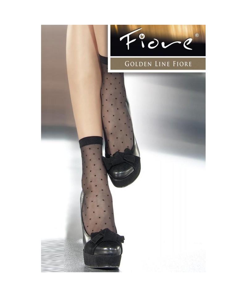 Fiore Trinity 20 den Ponožky, UNI, černý