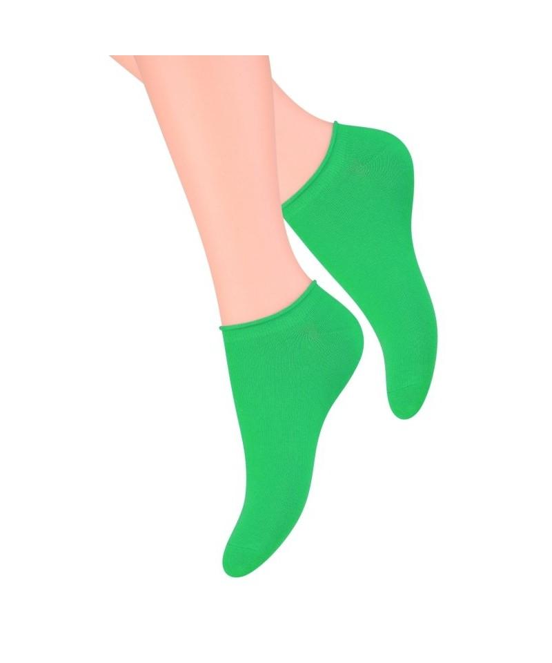 Steven art.041 dámské kotníkové ponožky, 38-40, Žlutá