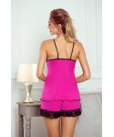 Eldar Evelin růžovo-černé Dámské pyžamo