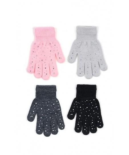 Rak R-162 se zirkony Dívčí rukavice