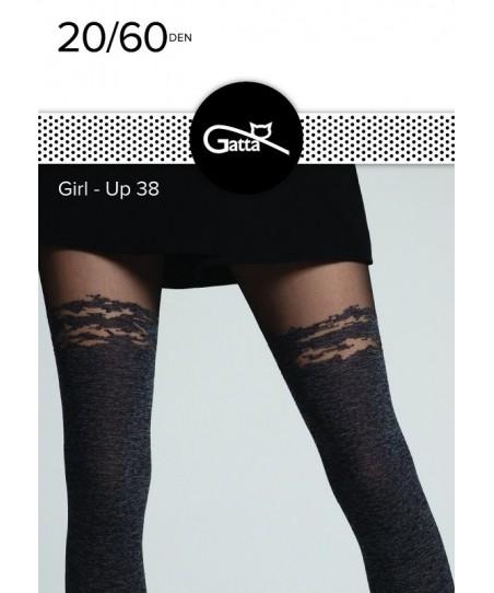 Gatta Girl-Up wz.38 20/60 den Punčochové kalhoty