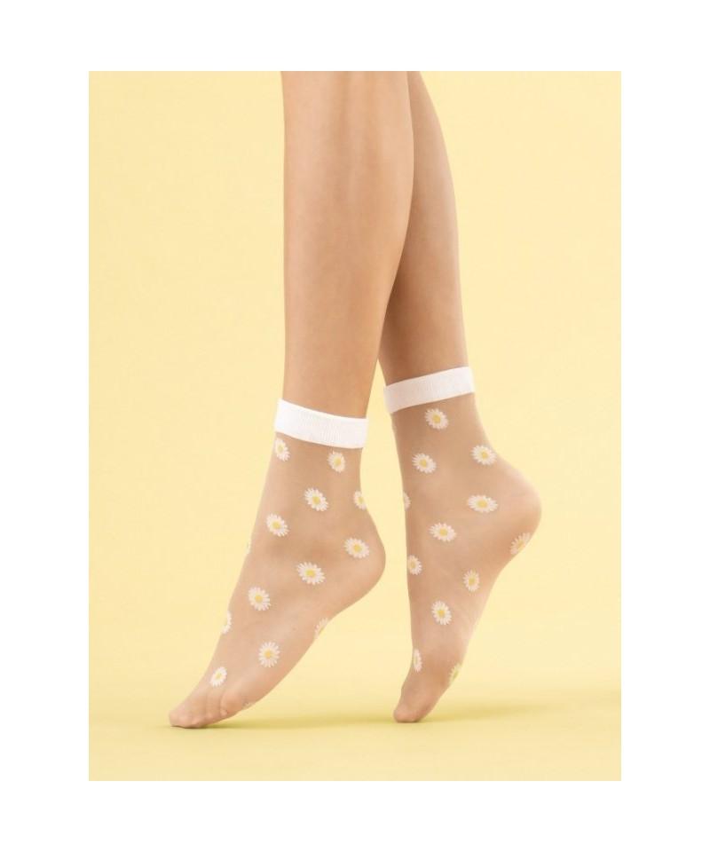 Fiore Daisy 20 DEN Ponožky, UNI, poudre