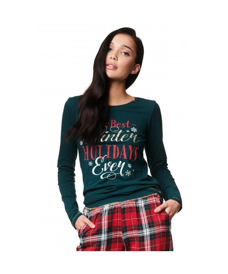 Henderson Zev 39221 Dámské pyžamo, S, zelená